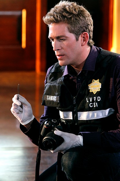 Szmanda - come on, he's a CSI!