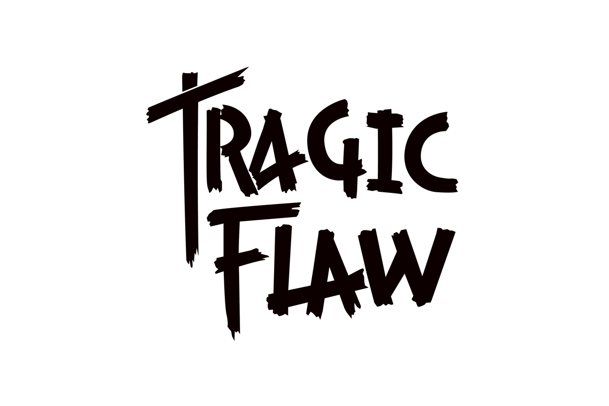 Tragic Flaw  Typographic design by Robin Mientjes