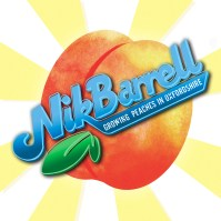 Nik Barrell - Growing Peaches in Oxfordshire EP artwork