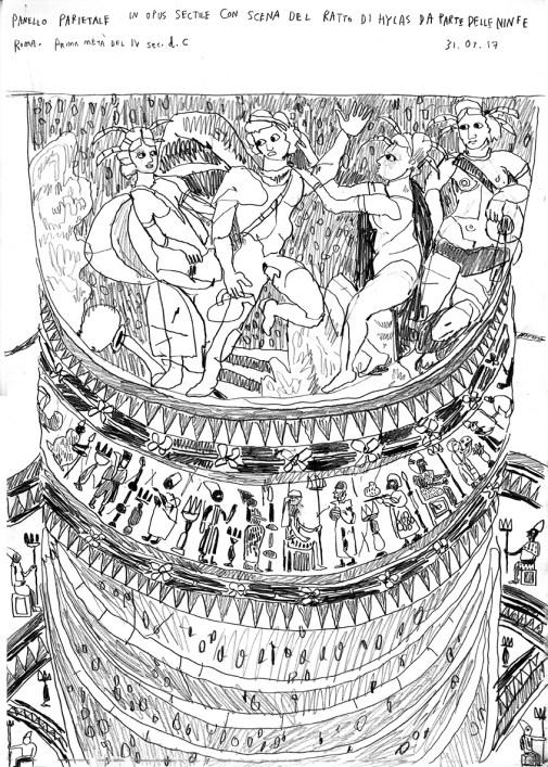 Opus sectile (pencil - 42 x 29 cm)