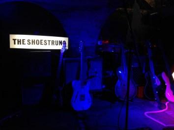 Hand-made lightbox onstage