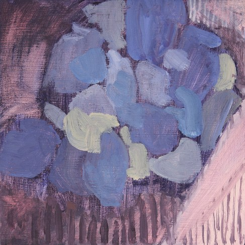 Cluster - Oil on board, 20 x 20 cm, 2010