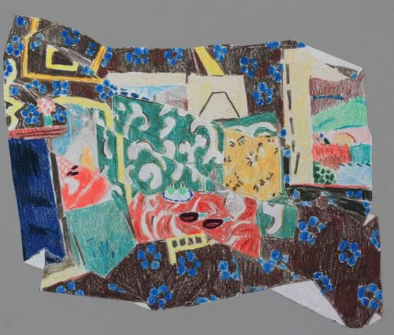 Creased Matisse