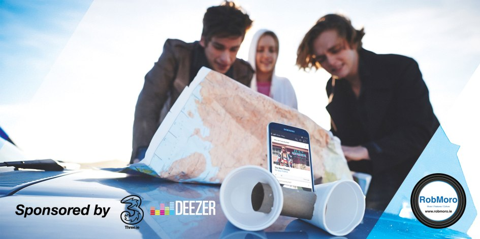 Three customers to receive instant free access to online music streaming service, Deezer's 40 million tracks and personalised music recommendations 'Flow'.