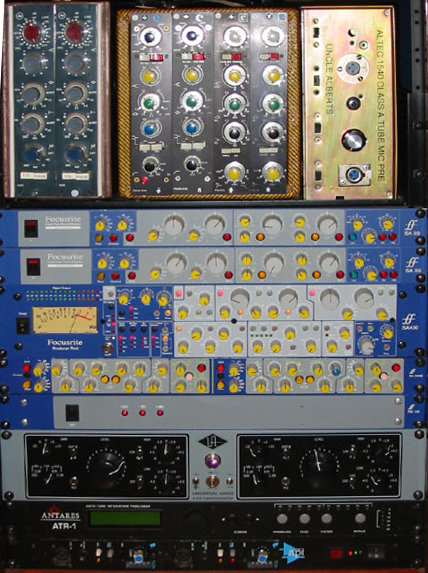 Project Studio Upgrades, Pt. 2 - Preamps and Channel Strips (1/6)