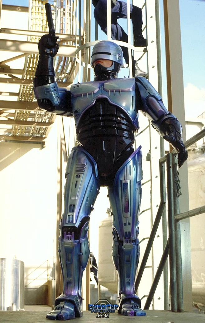 The RoboCop suit