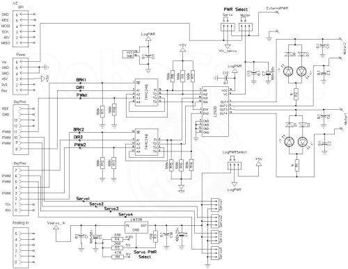 L-Motor Shield / Arduino / RoboCraft. Роботы? Это просто!