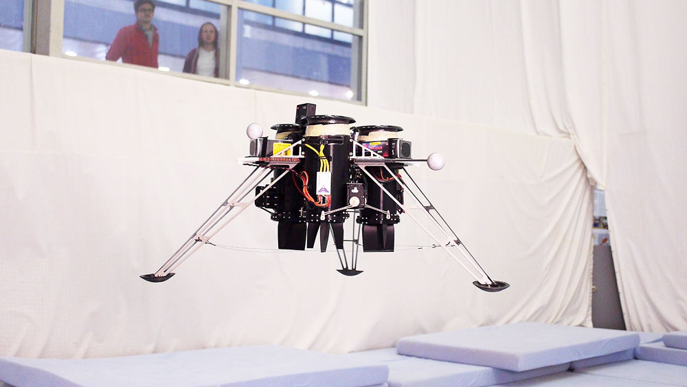 This Flying Machine Uses Ducted Fans For Propulsion And