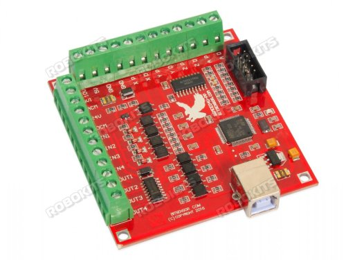 small resolution of usb cnc controller mach3 4 axis 100khz interface board mk1