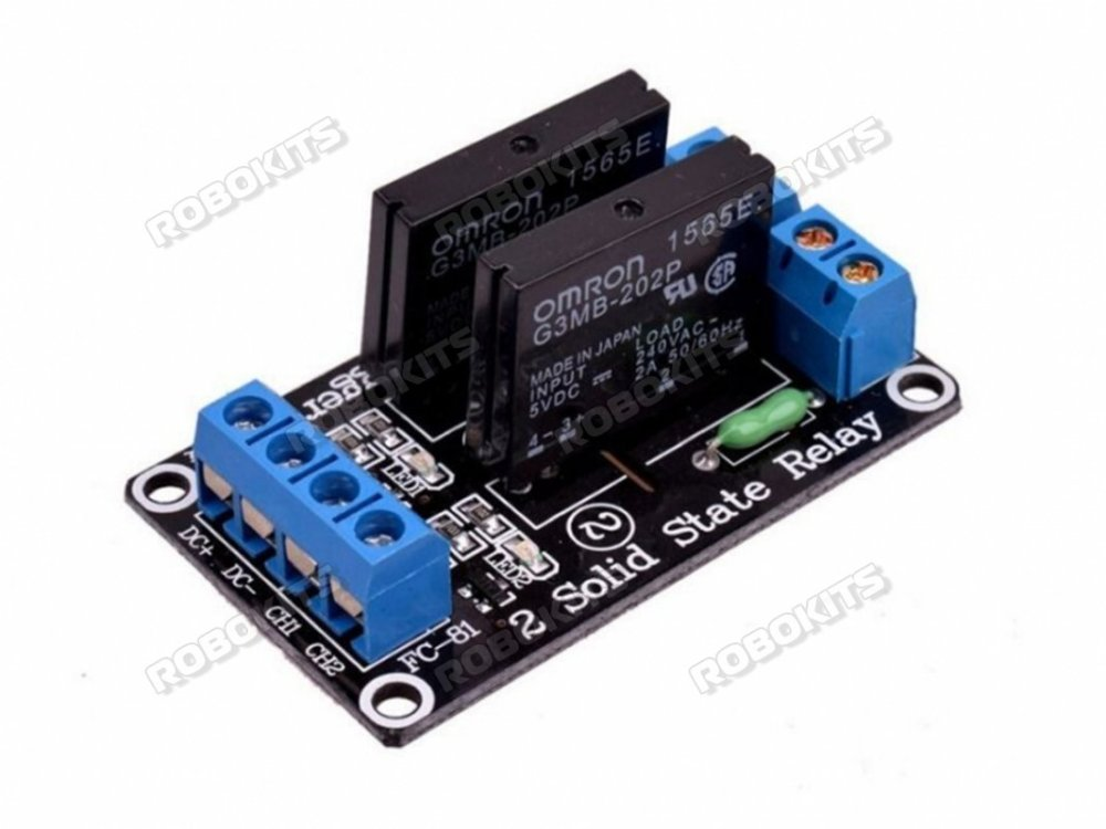 medium resolution of 5v 2 channel solid state relay module