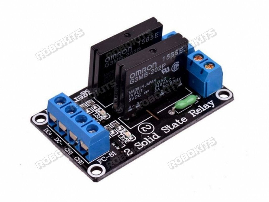 hight resolution of 5v 2 channel solid state relay module