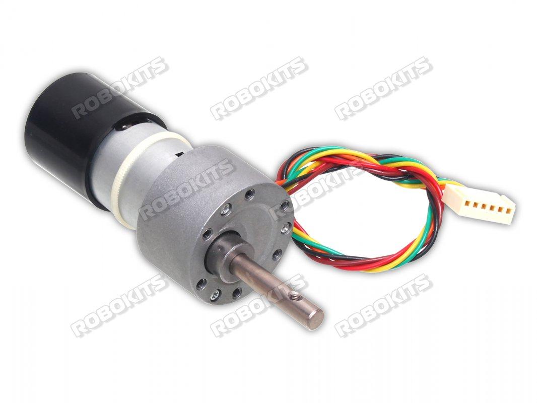 hight resolution of high torque quad encoder geared dc motor 12v 10rpm