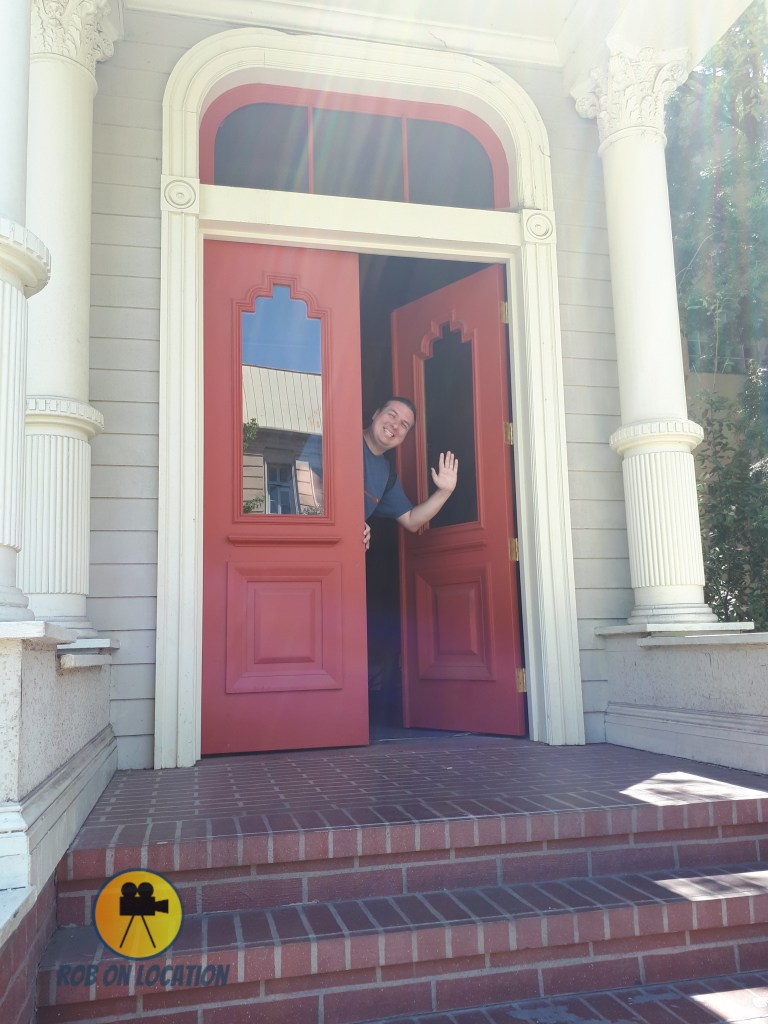 me at the fake Full House house