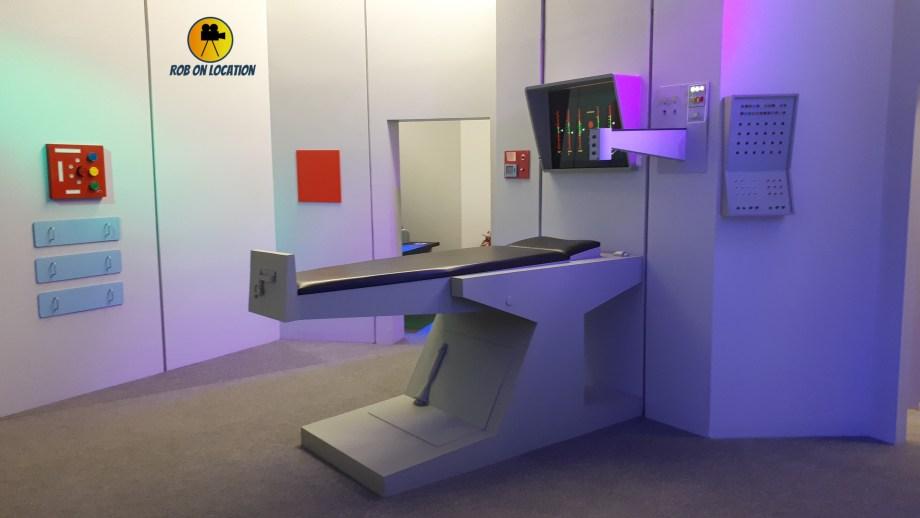 Star Trek set - Enterprise sickbay