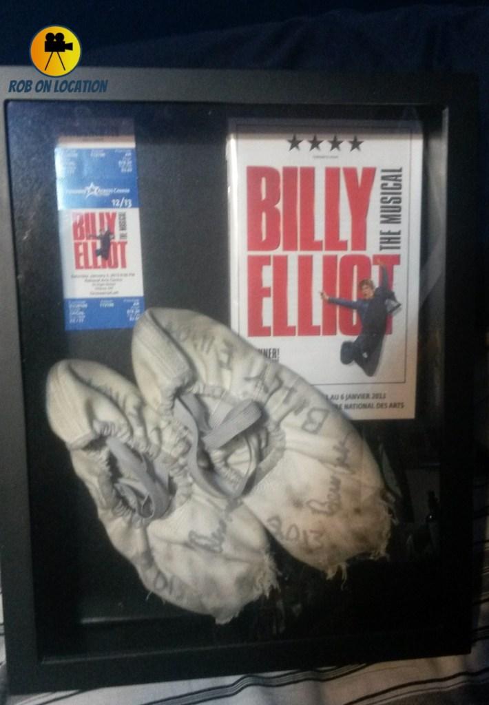 Billy Elliot ballet shoes Ben Cook