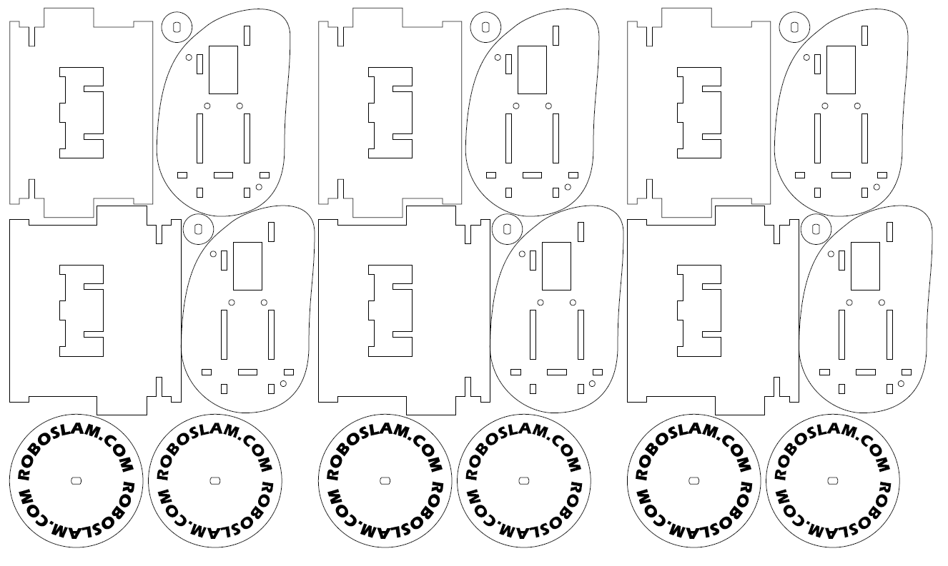 Instructions, laser cutting patterns and C code for