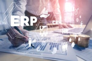 ERP process in a visual format
