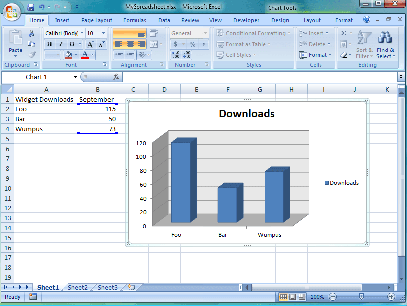 Generating Excel Charts with MarkLogic (2/6)