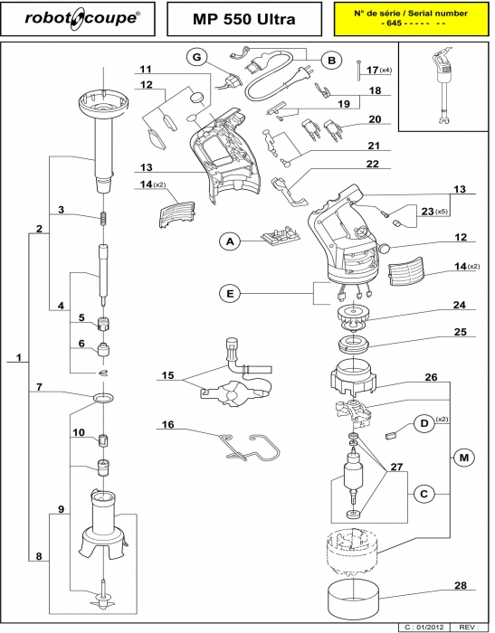 Robot Coupe 502 Wiring Diagram : 30 Wiring Diagram Images
