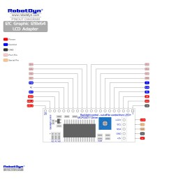 pinout i2c graphic 128x64 lcd adapter  [ 2000 x 2000 Pixel ]