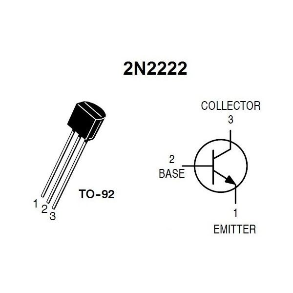 2n2222 electronic components