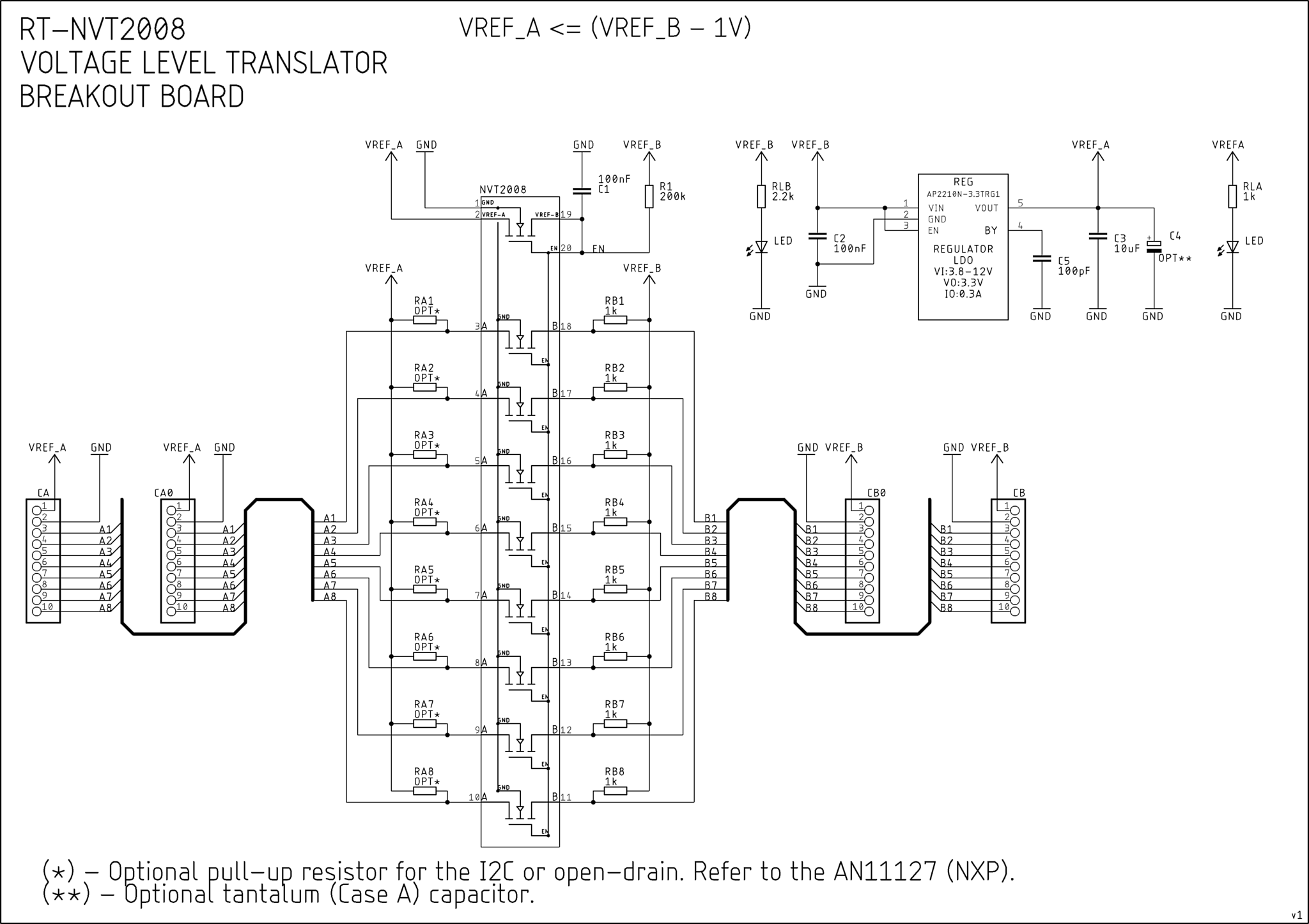 8 Logic Channels, Single Supply, Bidirectional Voltage
