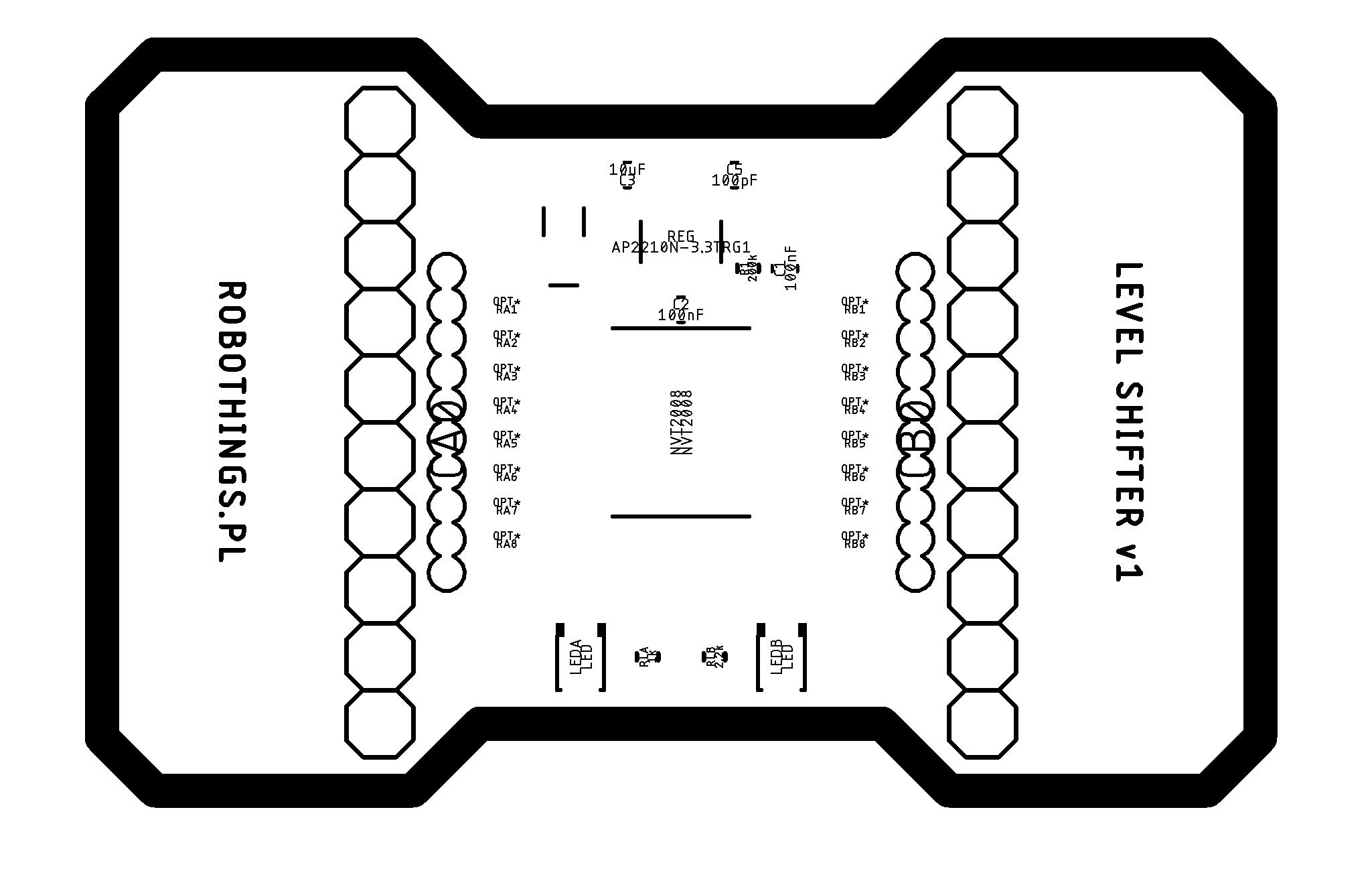 8 Logic Channels Single Supply Bidirectional Voltage