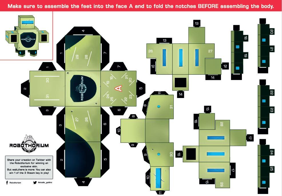 papercraft robothorium