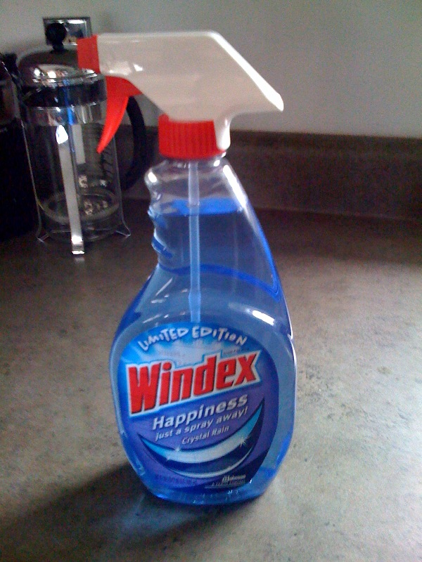 Limited Edition Windex Crystal Meth Spray
