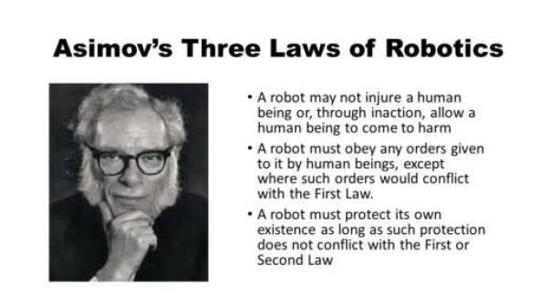 Asimov's Three Laws of Robotics