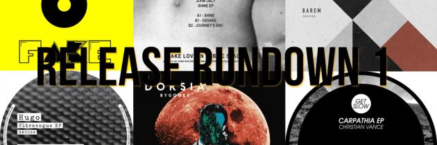 Release Rundown 1 – John Daly, Christian Vance, Hugo, Barem + More!