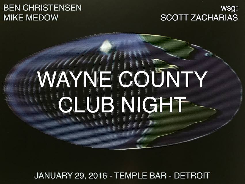 Wayne Country Club Night