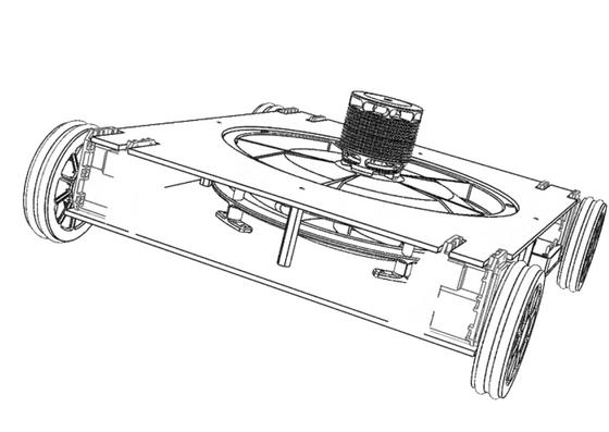 VortexScanner designed to navigate non-ferrous surfaces in