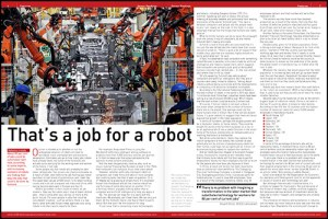 Robots taking human jobs feature