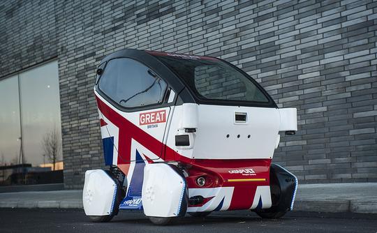 UK hits the road with autonomous vehicles