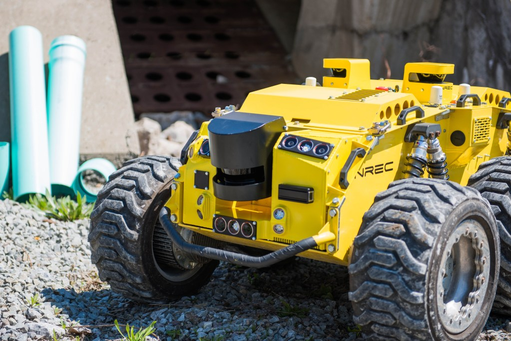 Profiler is a mine-mapping robot developed by NREC for Anglo American, one of the world's largest mining companies