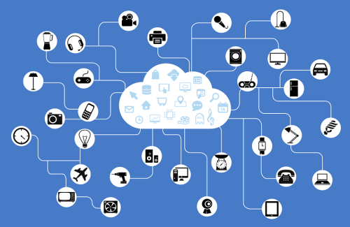 iot network illustration