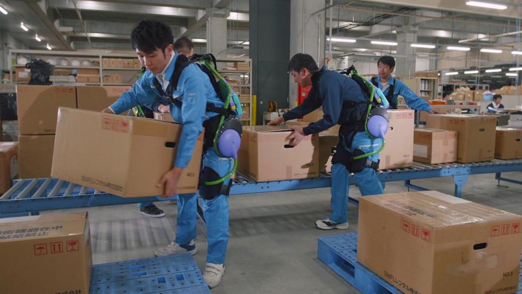 Panasonic to turn industrial workers and elderly into robots