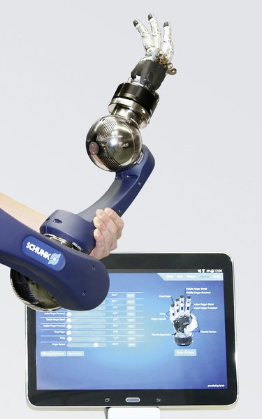 Schunk to unveil new robotic arm for autonomous assistance robots