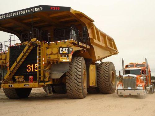 caterpillar autonomous truck