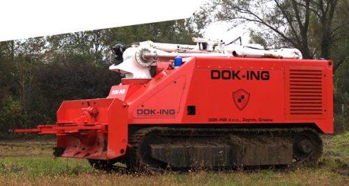 Dok-Ing's autonomous firefighting truck