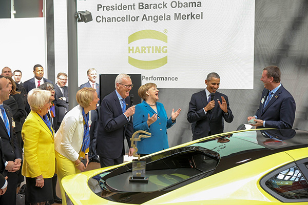 Harting to further expand US activities after Hannover Messe success