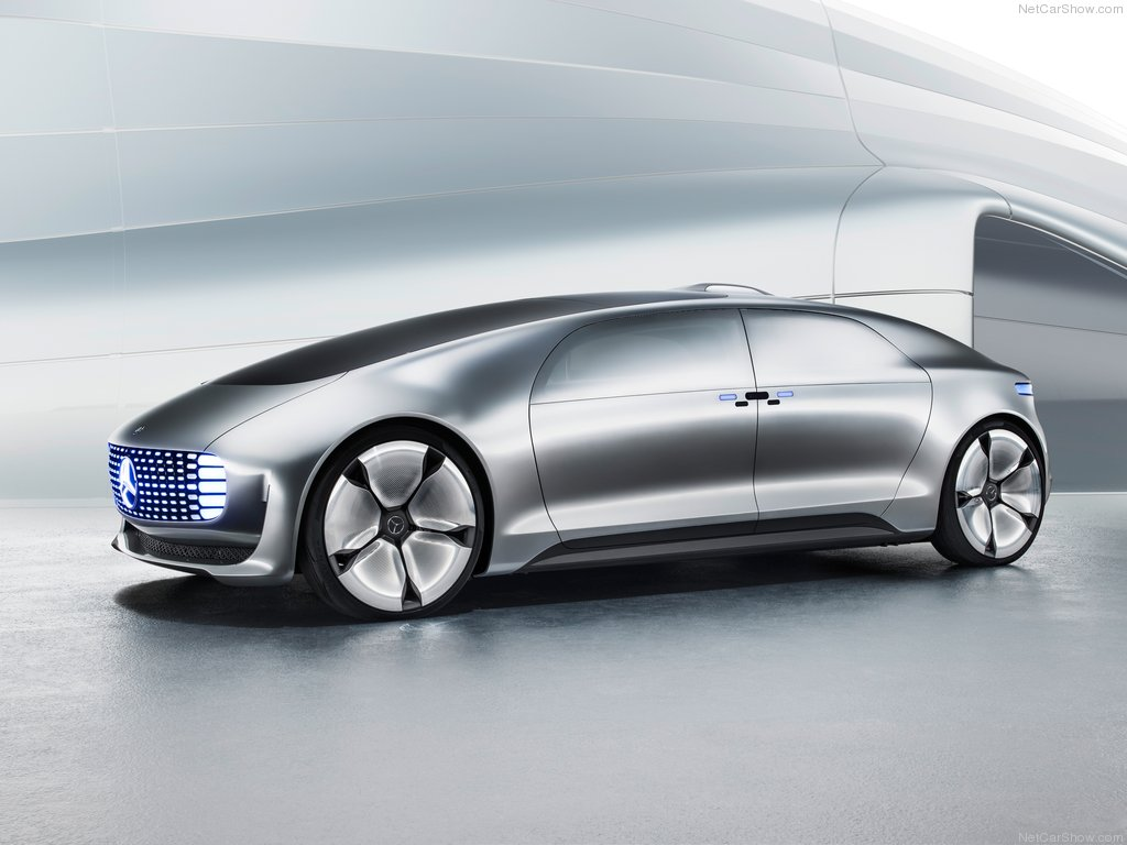 The Mercedes-Benz F 015 Luxury in Motion… the company's driverless car concept