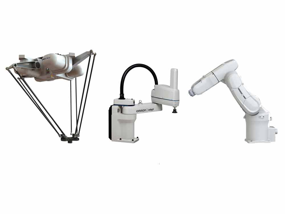 Omron launches new range of industrial robots