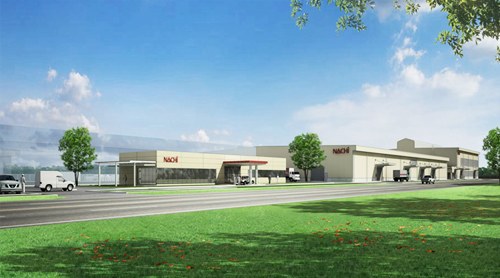 Nachi to open giant facility in Thailand