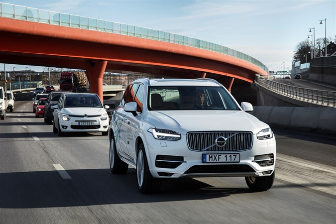Volvo Cars to launch UK's 'largest and most ambitious' autonomous driving trial