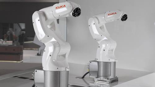 Kuka's new KR 3 AGILUS small robot