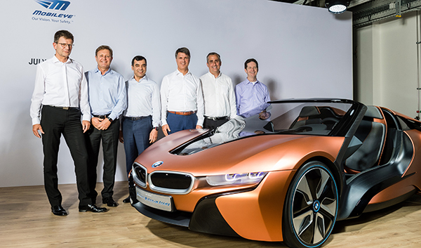 BMW, Intel and Mobileye team up to launch fully autonomous cars by 2021
