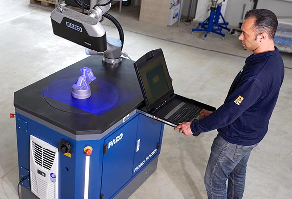 Faro launches factory robotic 3D imager