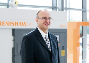 Clive Martell, Renishaw's head of global additive manufacturing
